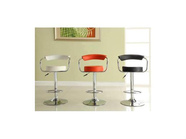 Airlift Swivel Stool in Red by Homelegance (Set of 2)