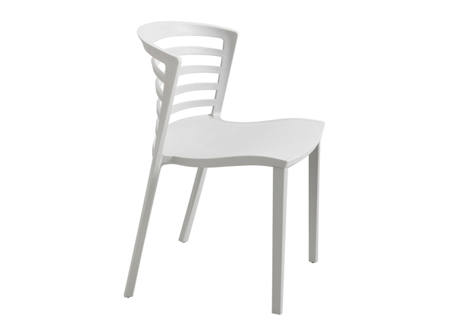 Entourage Stack Chair - Grey (Set of 4) by Safco