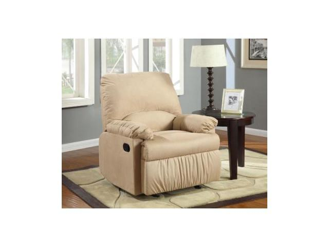 Light Brown Glider Recliner by Coaster Furniture