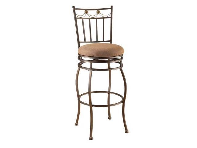 Swivel Bar Stool -W/P2 (SAME AS #96052 BUT Brown) (ISTA 3A) by Acme Furniture