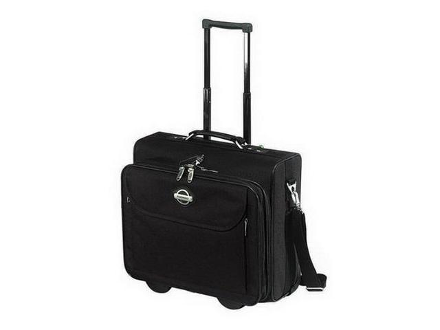 Transworld 16.5-inch Overnight Laptop Computer Rolling Briefcase - OEM