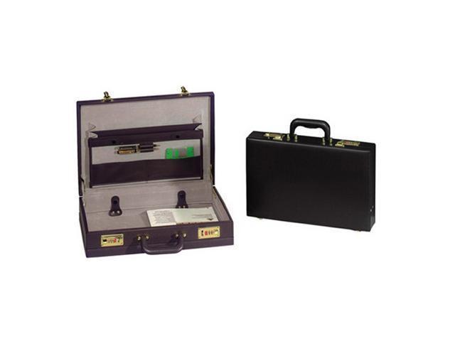 Transworld 9102 17.5-inch PVC Expandable Briefcase - OEM