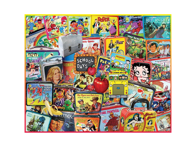 Lunch Boxes 1000 Piece Puzzle by White Mountain Puzzles