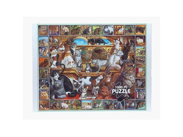 World of Cats Jigsaw Puzzle (1000 Pieces)