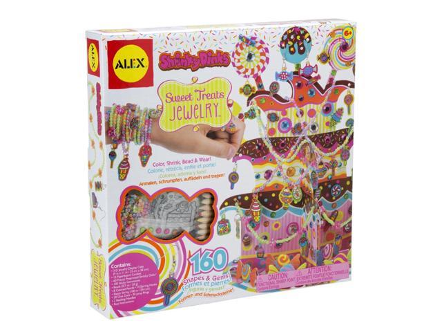 ALEX? Toys - Do-it-Yourself Wear! Shrinky Dinks So Sweet Treats Jewelry 398C