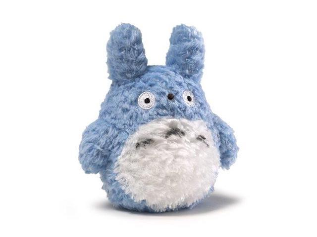Fluffy Blue Totoro Small 4.5