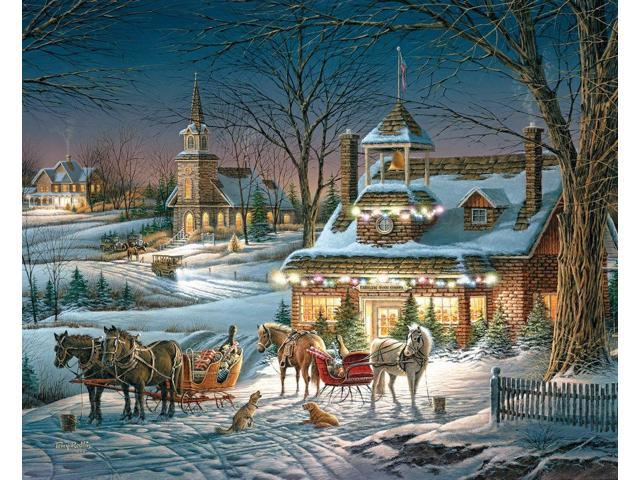 White Mountain Puzzles Evening Rehearsal Jigsaw Puzzle (1000-Piece)