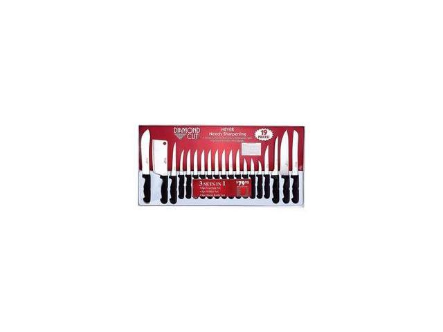 BNF CTDC19 Kitchen Cutlery 19 Piece Set in White/Red Bow Gift Box