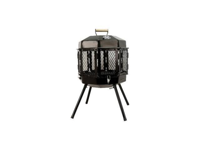 Masterbuilt Gmfp20 Grandmac Grizzly Cup Fireplace Grill