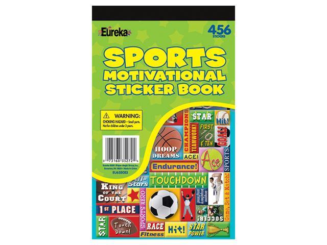 SPORTS MOTIVATIONAL STICKER BOOKS
