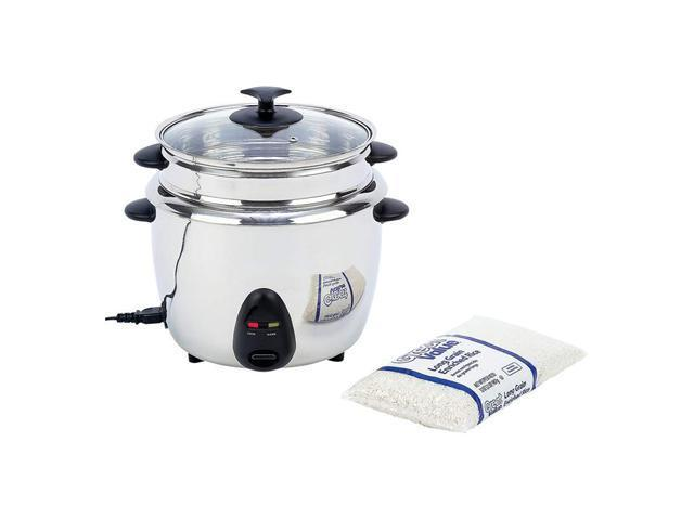 Precise Heat™ 1.9qt (1.8L) Stainless Steel Interior & Exterior Rice Cooker