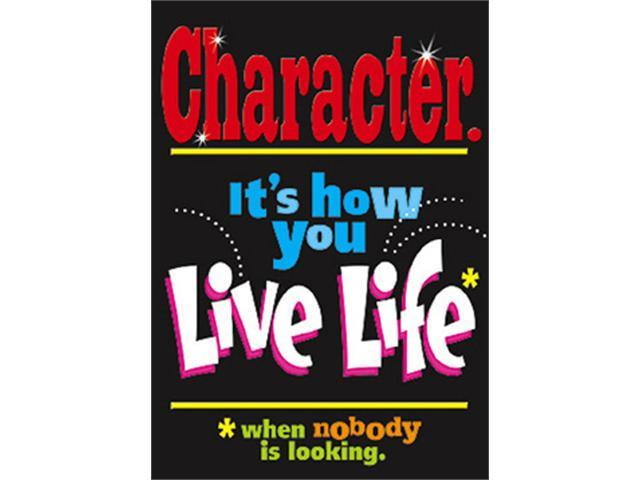 TREND ENTERPRISES INC. T-A67128 POSTER CHARACTER. ITS HOW YOU LIVE