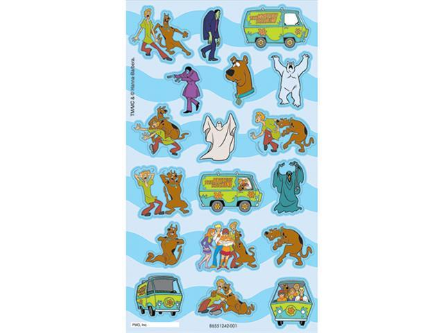 SCOOBY DOO CHARACTERS STICKERFITTI