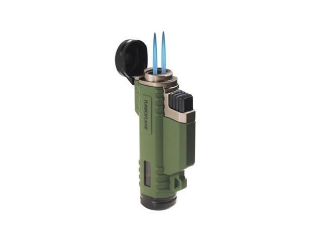 """Proforce PFPF21090 Butane Lighter Turboflame Ranger Lighter 3"""" Overall Olive Gre"""