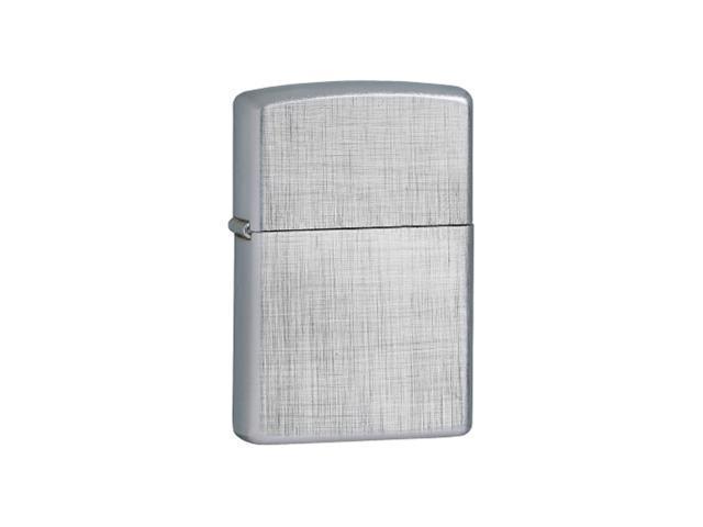 Zippo ZOZO28181 Lighter Linen Weave Chrome 28181
