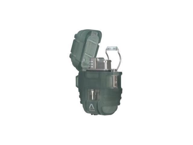 Delta Shockproof Lighter, Smoke Green