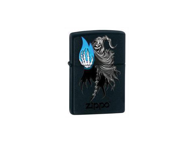 Black Matte, Skeleton/Death, Blue Flame