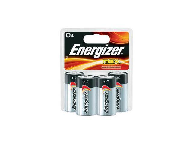 Energizer Max C, 4 Pack
