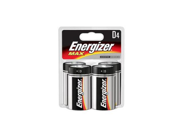 Energizer Max D, 4 Pack