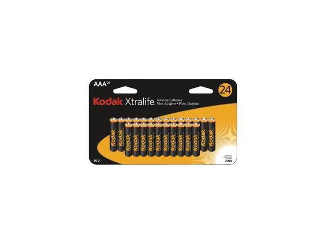 KODAK K3A-24 166-4192 Xtralife™ Alkaline Batteries (AAA; 24 pk)