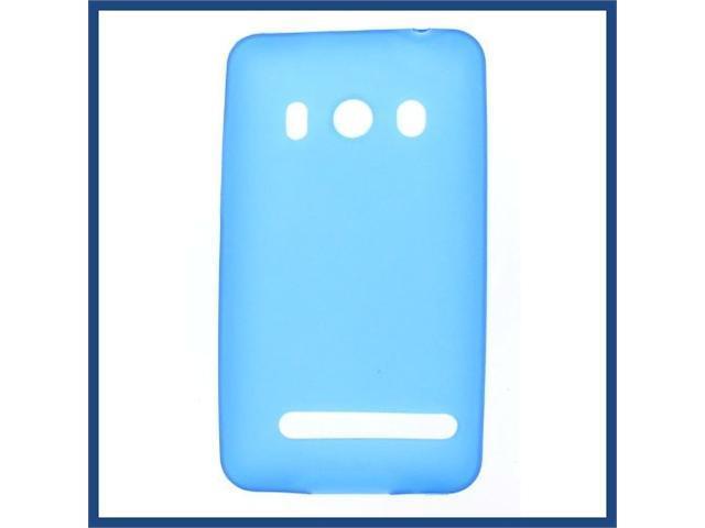 HTC Evo 4G Crystal Skin Case Blue