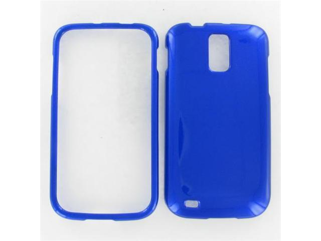 Samsung T989 (Galaxy S II) Blue Protective Case