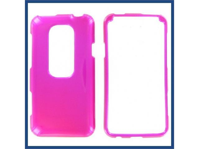 HTC Evo 3D Hot Pink Protective Case