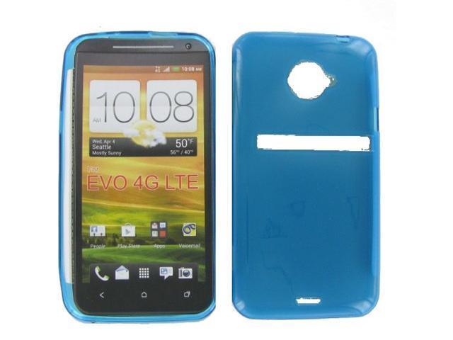HTC EVO 4G LTE Crystal Blue Skin Case