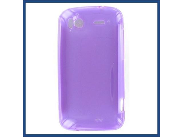 HTC Pyramid / Sensation 4G Crystal Purple Skin Case