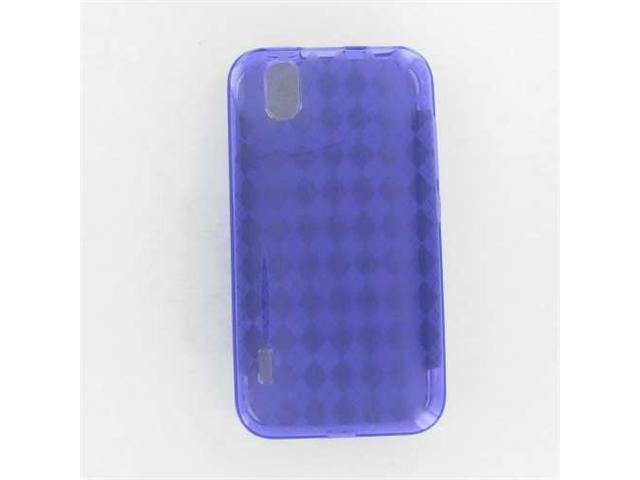 LG LS855 (Marquee) Crystal Skin Case Purple