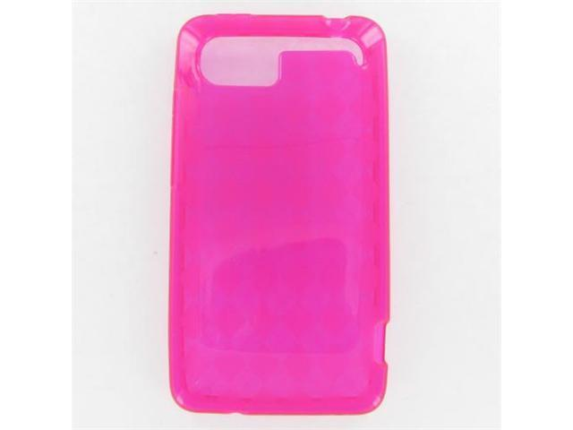 HTC Vivid Crystal Hot Pink Skin Case