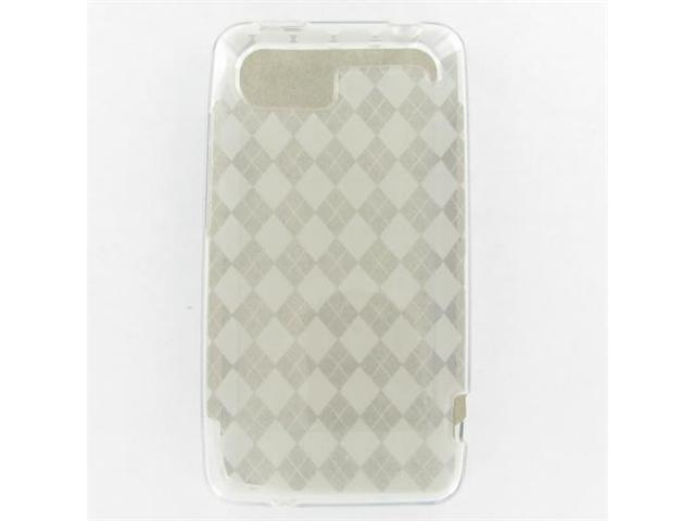 HTC Vivid Crystal Clear White Skin Case