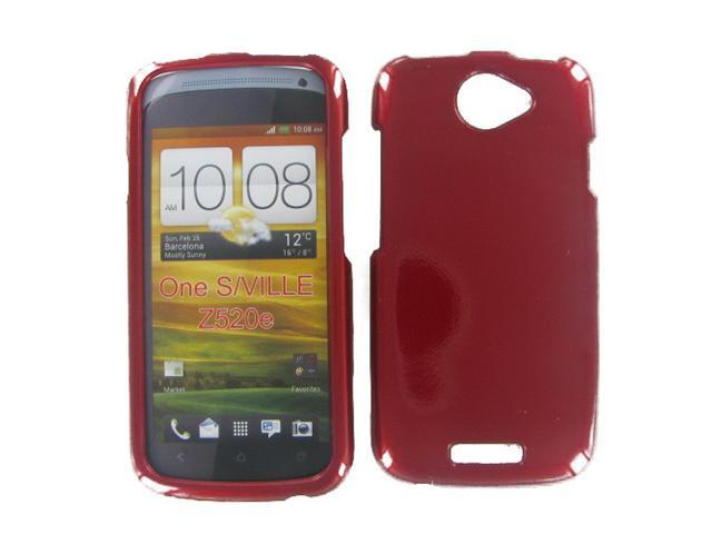 HTC ONE S Red Protective Case