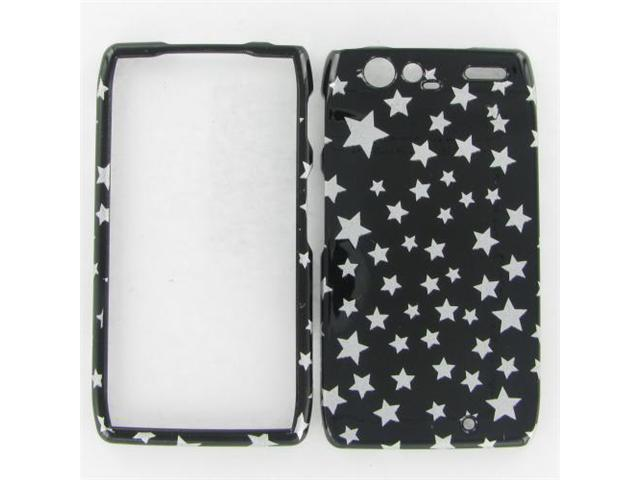 Motorola XT912 (Droid Razr) Star on Black Protective Case