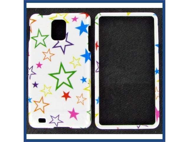 Samsung i997 (Infuse 4G) Color Stars Protective Case