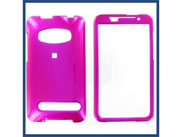 HTC Evo 4G Hot Pink Protective Case
