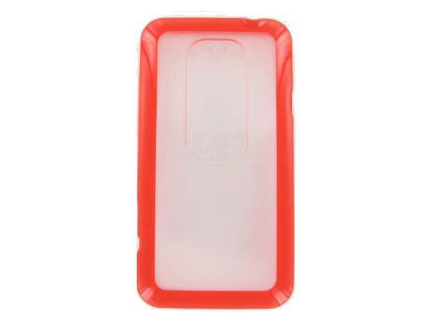 HTC Evo 3D Red Frame Case