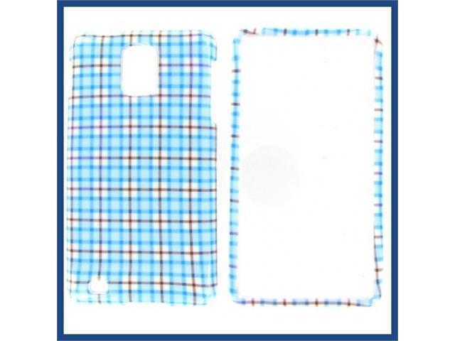Samsung i997 (Infuse 4G) Blue Check Protective Case