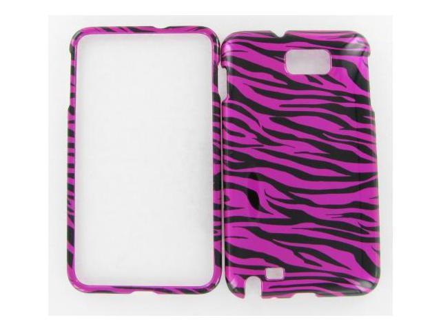 Samsung I717 (Galaxy Note) Zebra on Hot Pink Phone Protective Case