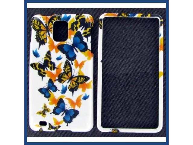 Samsung i997 (Infuse 4G) Yellow Butterfly Protective Case