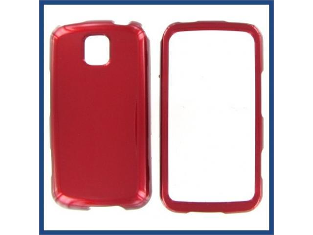 LG MS690 (Optimus M) Red Protective Case