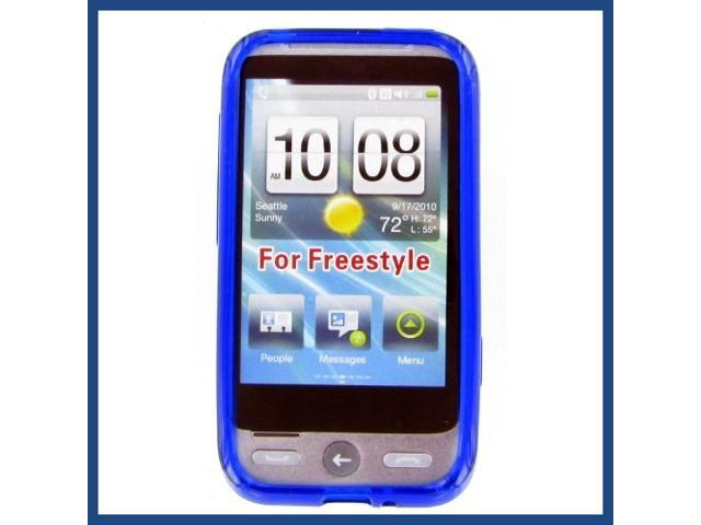 HTC Freestyle Crystal Blue Skin Case
