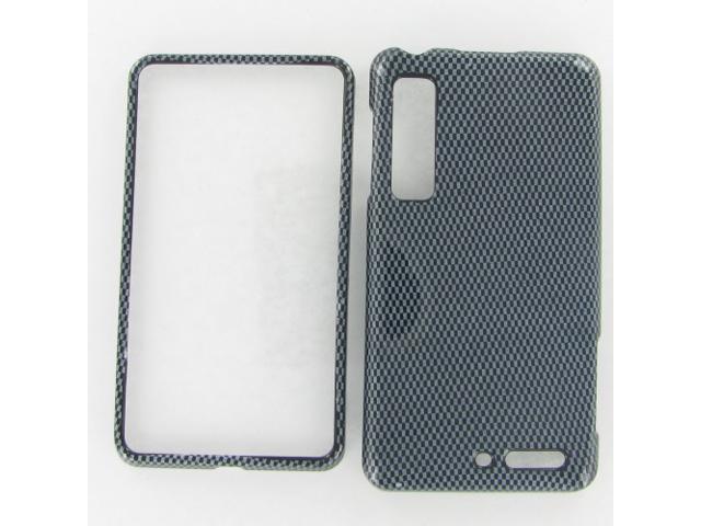 Motorola XT862 (Droid 3) Carbonfiber Protective Case