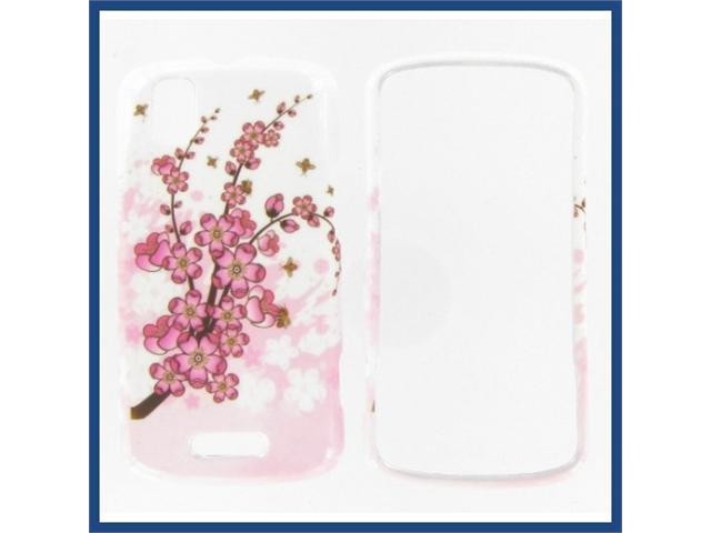 Motorola A957 (DROID Pro) Spring Flowers Protective Case