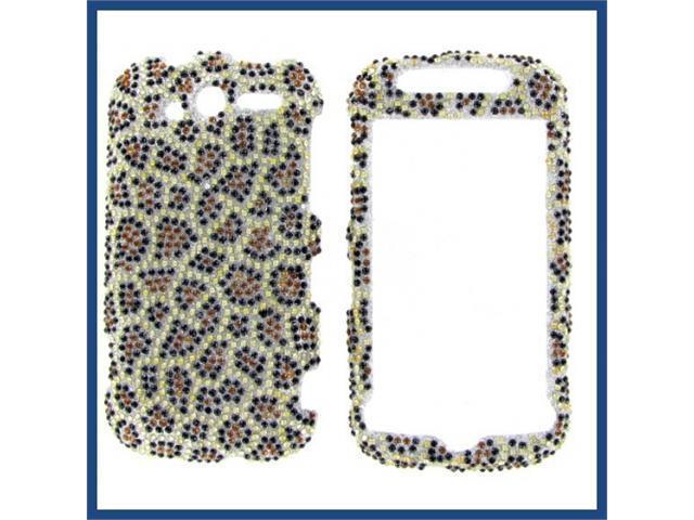 HTC MyTouch 4G 2010 Full Diamond Leopard Protective Case