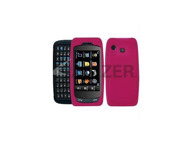 Amzer Silicone Skin Jelly Case - Hot Pink Magenta