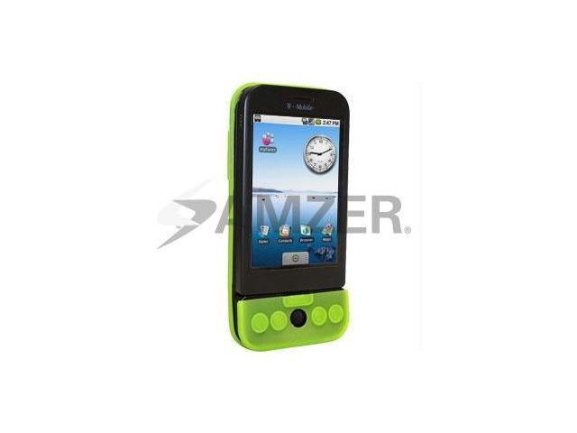Amzer Silicone Skin Jelly Case - Neon Green