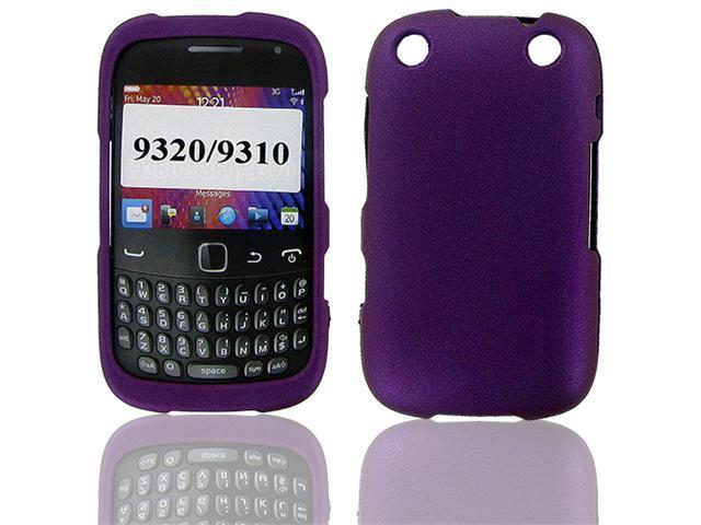 Blackberry 9310/ 9320 (Curve) Purple Rubber Protective Case