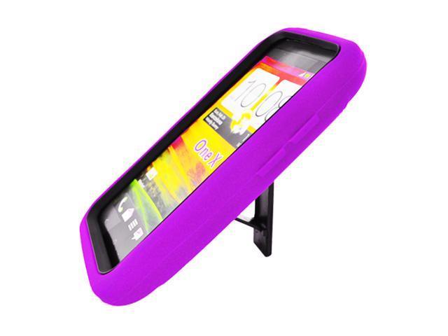 HTC ONE X Purple Robotic Case