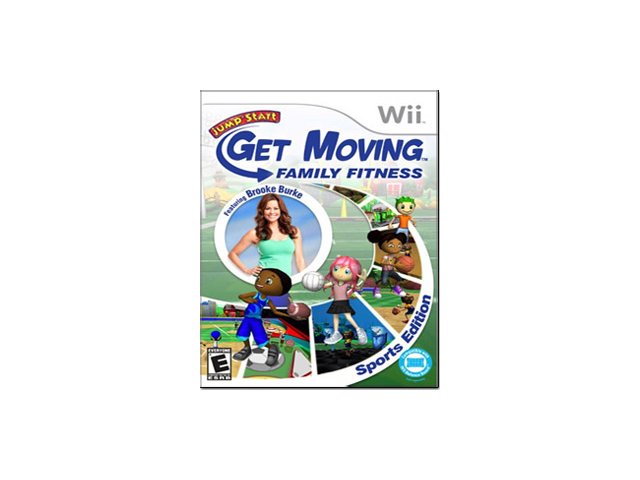 Jumpstart Get Moving Family Fitness (Nintendo Wii)